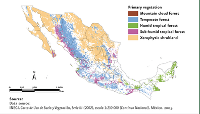 Geogaphy And Environment Mexico - Mexico climate map